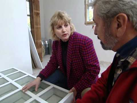 How to Install Glass-Block Walls - 330 Year-Old Victorian Home Renovation - Bob Vila eps.2410