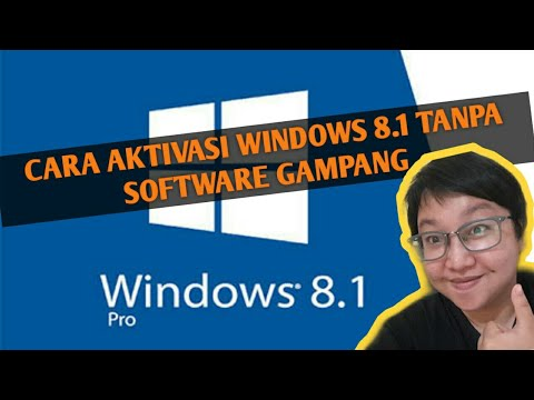 Cara menghapus Watermark Windows 8 1 Pro Build 9600 || Full Crack.