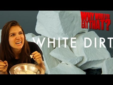 Georgia's White Dirt aka Edible Clay - Why Would You Eat That?