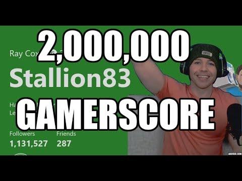 2,000,000 Xbox Gamerscore!! World's First