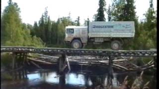 Unimog truck expedition North Russia Ural 1996 Extreme Adventure Offroad pt.2