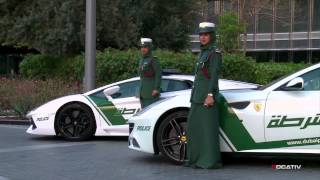 Dubai's luxury police cars