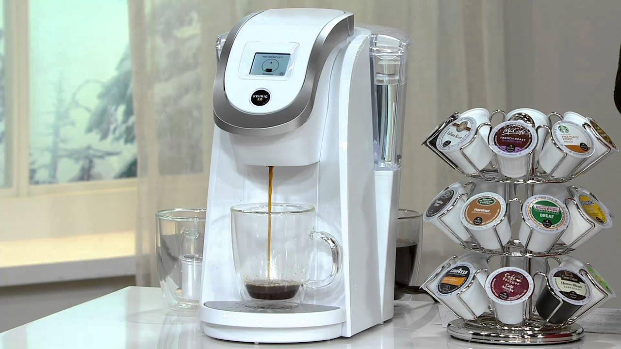 Keurig 2.0 K250 Coffee Maker w/ 31 K-Cup Packs & Water Filter ...