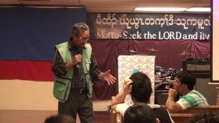 DKF - September 18 2016  Sunday Night Service   Rev. Tha Doo - His testimony part 5