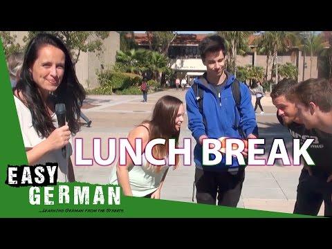 Giáo trình tiếng Đức A1- Bài 13: Giờ nghỉ trưa