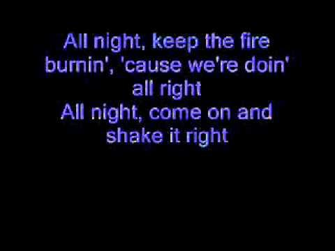 Cinderella - Shake Me (Lyrics)