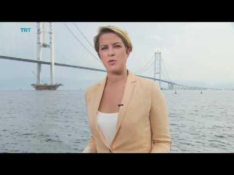 World's 4th longest suspension bridge opens in Turkey, Sally Ayhan reports