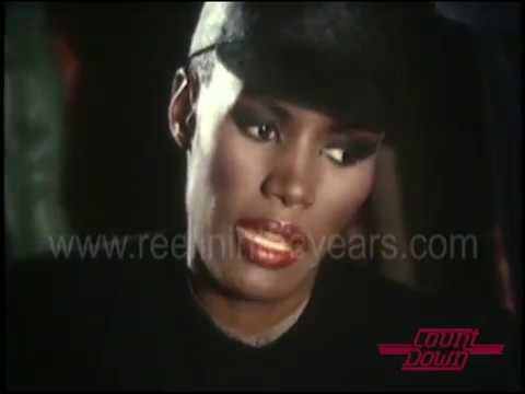 Grace Jones- Interview on Countdown 1982