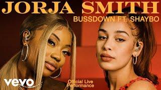 Jorja Smith - Bussdown ft Shaybo (Live) | Vevo Official Live Performance