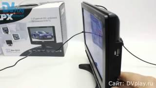 видео Обзор портативного цифрового телевизора Eplutus EP-124T (12.1