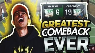 THE GREATEST COMEBACK IN MYPARK HISTORY! OMFG! NBA 2K17 MyPark Gameplay