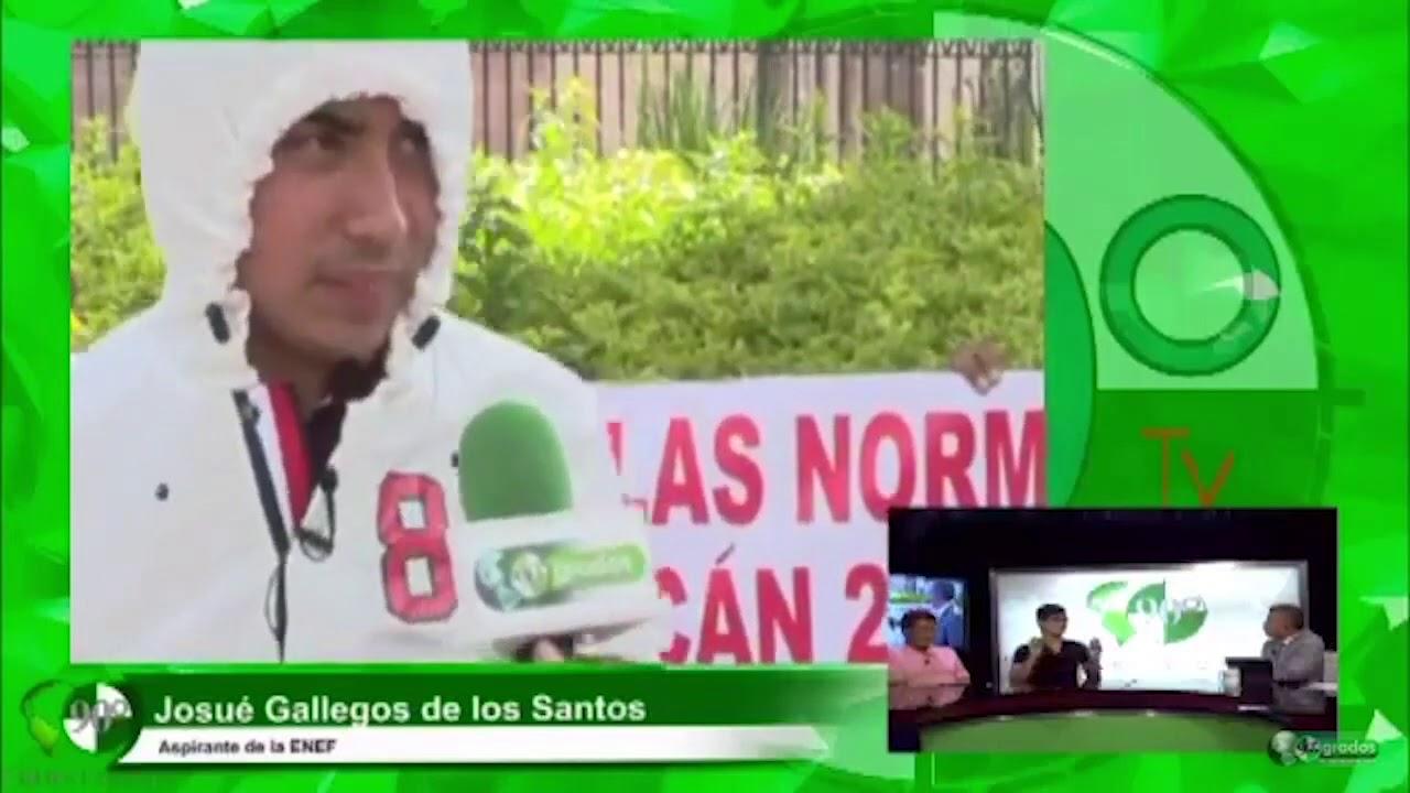 Entrevista con José Tomás Gallegos Ahedo Padre de Aspirante a ENEF y con Josué Gallegos Aspirante a