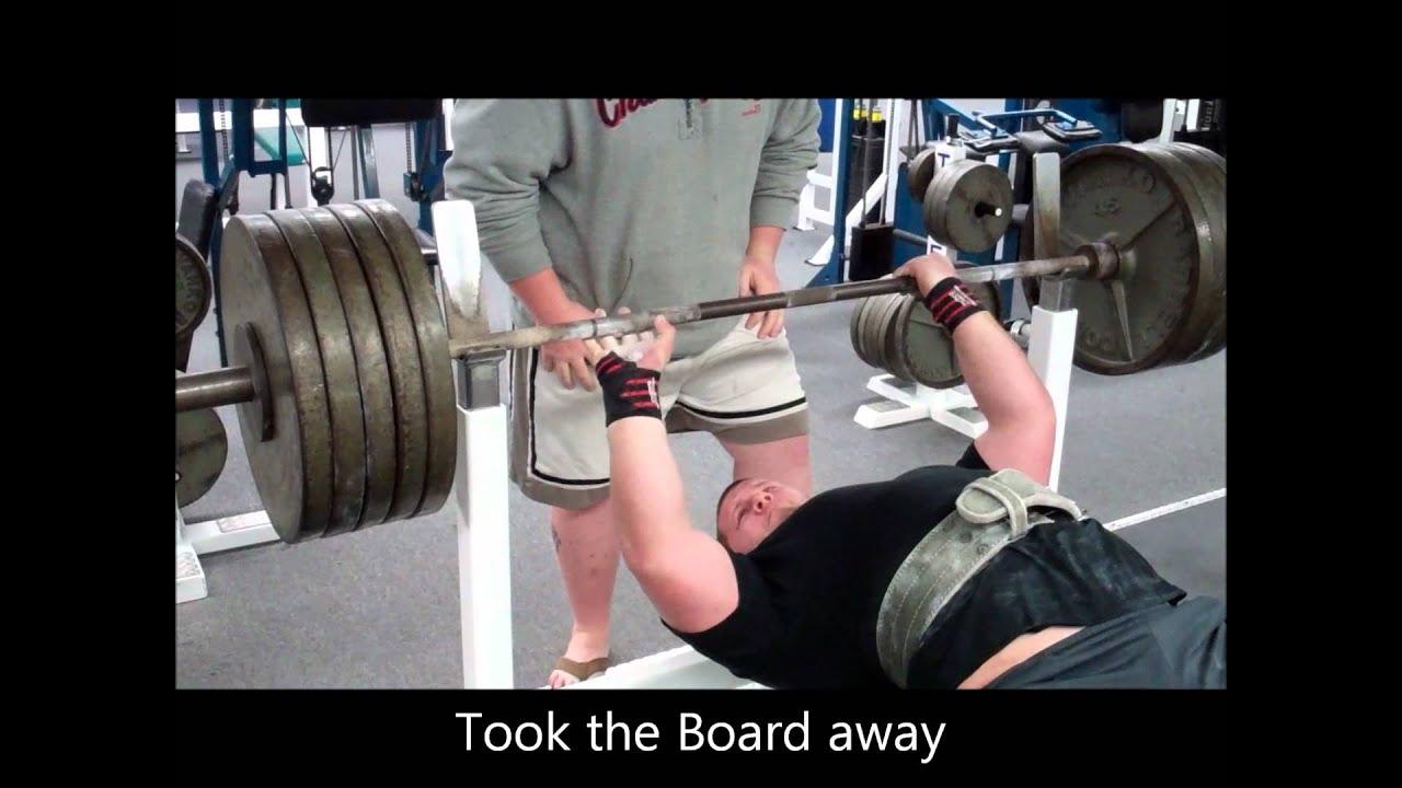 My First 500 Pound Raw Bench Press Youtube