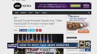 How to spot fake news websites