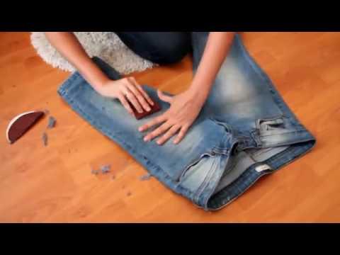 Как тереть джинсы.
