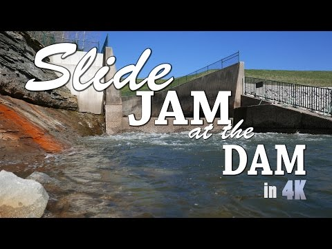 Slide Jam at the Dam - Longboarding in 4k