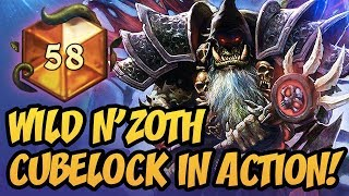 Wild N'Zoth Cubelock In Action! | The Boomsday Project | Hearthstone