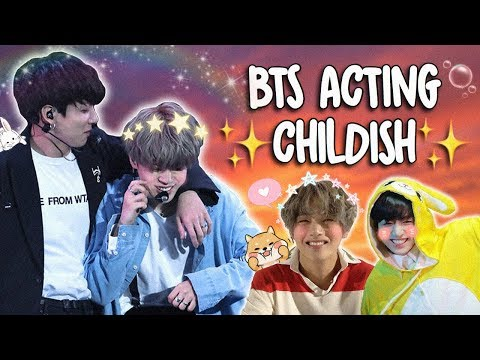 BTS INNOCENT & CHILDISH MOMENTS
