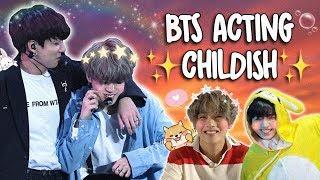 BTS INNOCENT \u0026 CHILDISH MOMENTS
