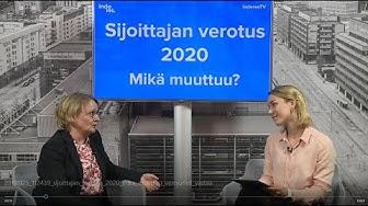 Sijoittajan verotus 2020 – mikä muuttuu? Verojuristi vastaa
