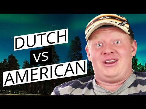 Dutch life vs American life funny
