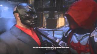 Batman Arkham Knight Red Hood Story DLC Batman Arkham Knight All Cutscenes