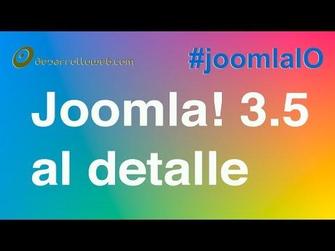 Joomla! 3.5: todas las novedades al detalle