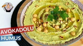 Avokadolu Humus Nasıl Yapılır? | Hatice Mazı ile Yemek Tarifleri