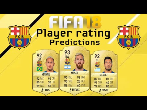 Fifa 18 Barcelona Player Rating Predictions