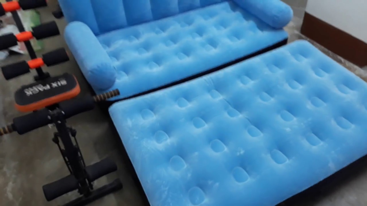 Air Sofa Bed 5 In 1 With Air Pump Bestway Inflatable Sofa Just