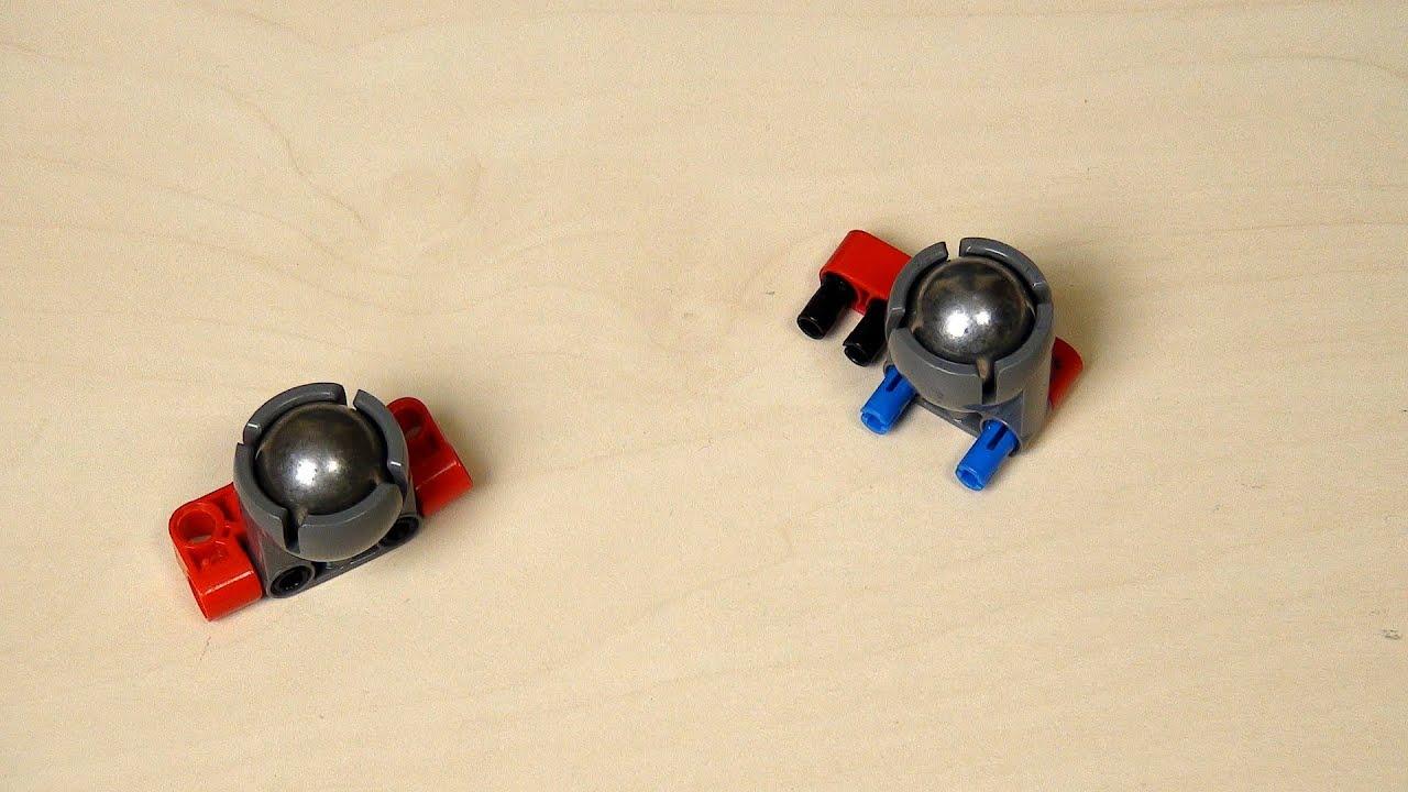2 PCS Caster Steel Ball Round Car Steering Universal Wheel Robots Model-making
