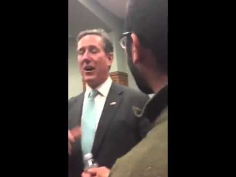 Rick Santorum Gets Humiliated By College Student