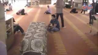 بالدموع عمرو محمود ياسين وطارق النهرى يودعان ميرنا المهندس