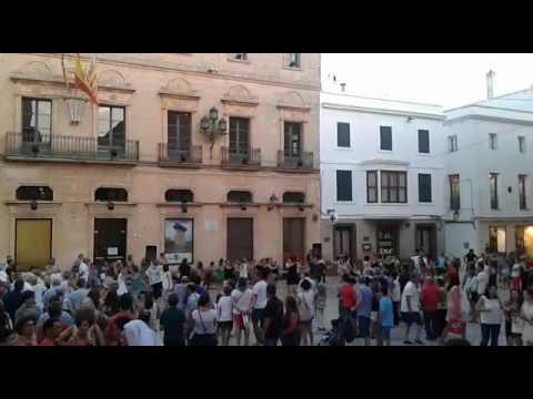 Trobada de Ball Menorquí a Ciutadella