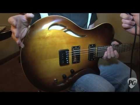 NY Amp Show '11 - Soloway Guitars Loon Demo