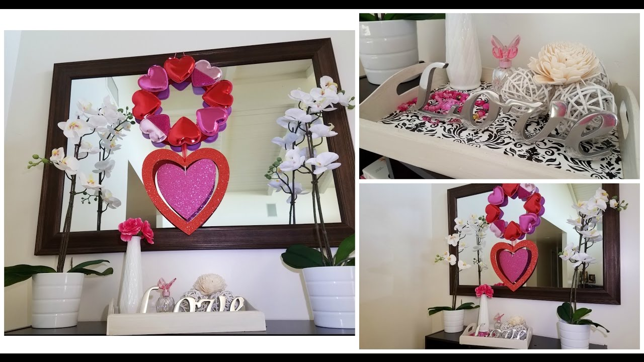 Decoracion de san valentin valentine 39 s day decor youtube for Decoracion para san valentin
