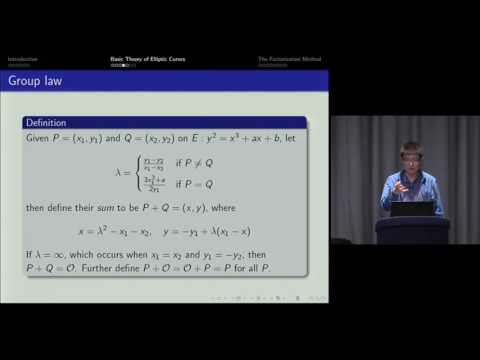 Lenstra's elliptic curve factorization method