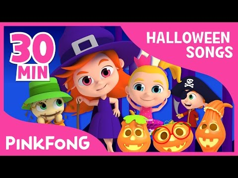 The Best Songs of Halloween  + Compilation  PINKFONG Songs for Children