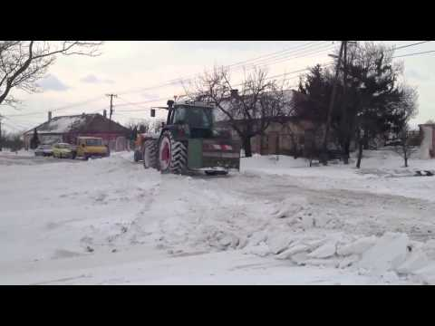 Blizzard in middle Europe 2014 HD