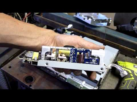 First Gen PS3 Autopsy Pt1 - Top Assembly - PSU and DVD Drive