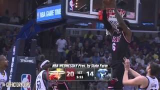 2014.04.09 - LeBron James Full Highlights at Grizzlies - 37 Pts