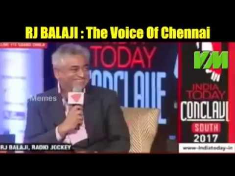 RJ Balaji super speech about Jallikattu in India today