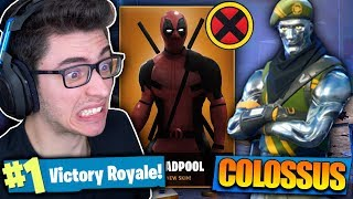 I BOUGHT THE SKIN OF THE STEEL X-MEN AND I KILLED GENERAL!! Fortnite: Battle Royale