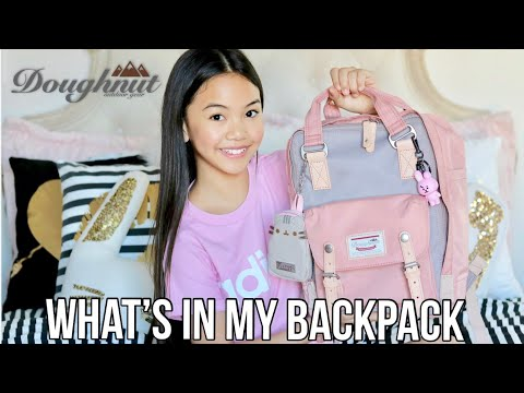 WHAT'S IN MY BACKPACK!  MIDDLE SCHOOL