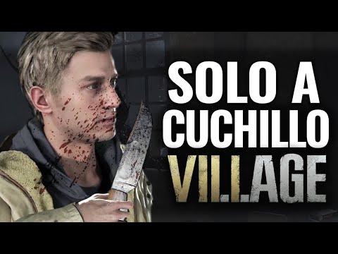 COMPLETA RESIDENT EVIL 8 VILLAGE SOLO CON CUCHILLO
