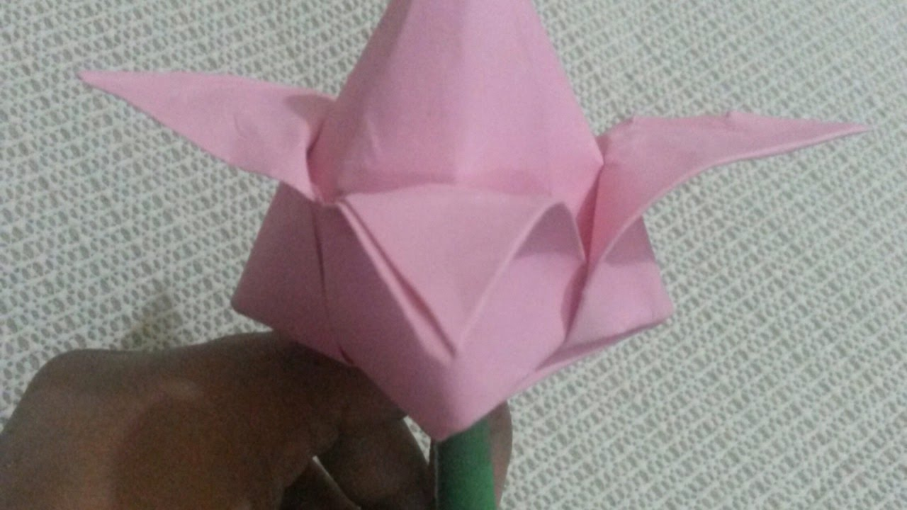 Creat A Simple Origami Lotus Flower Diy Crafts Guidecentral