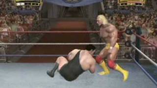 WWE Legends of Wrestlemania HD Gameplay (demo) PS3