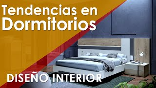 TENDENCIAS PARA CUARTOS: ¿Quieres que tu dormitorio se vea moderno? Mira como hacerlo...