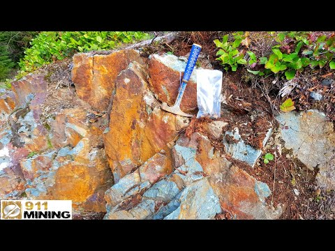 Prospecting Oxidized Outcrops With High Grade Au, Pt & Pd Prescious Metals