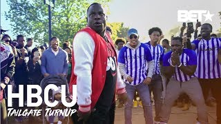 Famous Amos & Ipod Da Dj Meet The Mean Green Marching Machine at MVSU | HBCU Tailgate Turnup